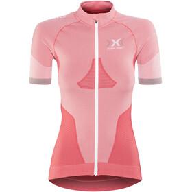 X-Bionic Race EVO Kortärmad cykeltröja Dam röd